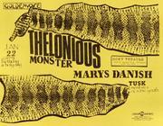 Thelonious Monster Handbill
