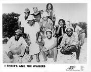 I Three's and the Wailers Promo Print