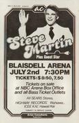 Steve Martin Handbill
