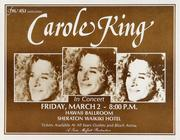 Carole King Handbill