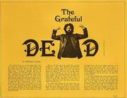 Grateful Dead Program