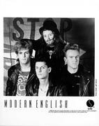 Modern English Promo Print