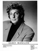 Barry Manilow Promo Print