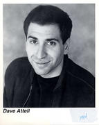 Dave Attell Promo Print
