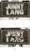 Jonny Lang Backstage Pass