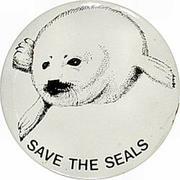Save The Seals Pin