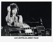 Jimmy Page Promo Print