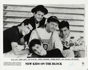 New Kids On The Block Promo Print