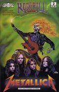 Rock 'N' Roll Issue 2: Metallica Vintage Comic
