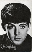 Paul McCartney Handbill