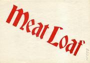 Meat Loaf Handbill