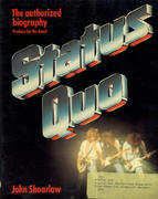 Status Quo: the Authorized Biography Book