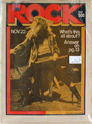 Rock Magazine November 22, 1971 Magazine