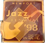 Newport Jazz Festival Pin