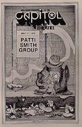 Patti Smith Group Program