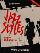 Jazz Styles History And Analysis Book