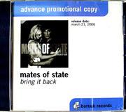 Mates of State CD