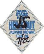 Jackson Browne Backstage Pass