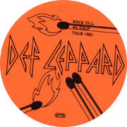 Def Leppard Backstage Pass