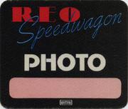 REO Speedwagon Backstage Pass