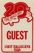 The Beach Boys Backstage Pass