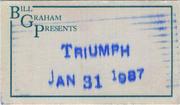 Triumphlee Backstage Pass