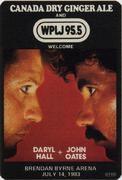 Hall & Oates Backstage Pass