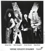 Vinnie Vincent Invasion Promo Print