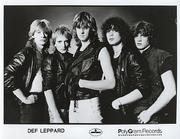 Def Leppard Promo Print