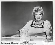 Rosemary Clooney Promo Print