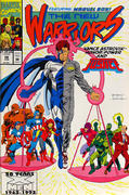 The New Warriors Vintage Comic
