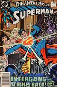 The Adventures of Superman Vintage Comic