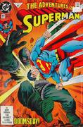 The Adventures of Superman #497 Vintage Comic