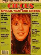 Circus Magazine December 31, 1981 Magazine