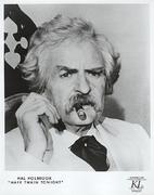 Mark Twain Tonight Promo Print