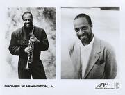 Grover Washington Jr. Promo Print