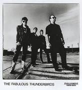 The Fabulous Thunderbirds Promo Print
