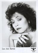 Lou Ann Barton Promo Print