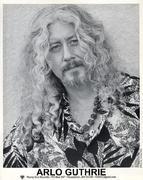 Arlo Guthrie Promo Print