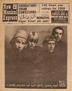 New Musical Express Magazine January 4, 1969 Magazine