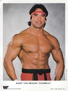"Ricky ""The Dragon"" Steamboat Promo Print"
