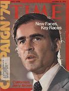 Time Magazine October 21, 1974 Magazine