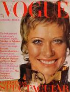 Vogue Magazine December 1969 Magazine