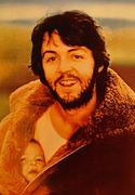 Paul McCartney Postcard