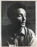 Woody Guthrie Vintage Print