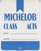 Michelob Class Acts Backstage Pass
