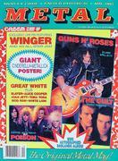 Creem Magazine Close-Up: Metal October 1989 Magazine
