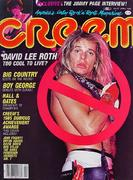 Creem Magazine April 1985 Magazine