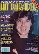 Hit Parader Magazine January 1982 Magazine