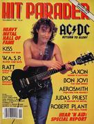 Hit Parader Magazine November 1985 Magazine